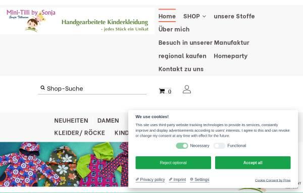 Vorschau von www.kinderkleidung-handarbeit.de, Werkstatt für Kinderkleidung