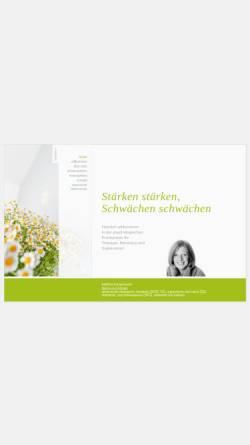 Vorschau der mobilen Webseite www.bettina-koopmann.de, Bettina Koopmann, Diplom-Psychologin