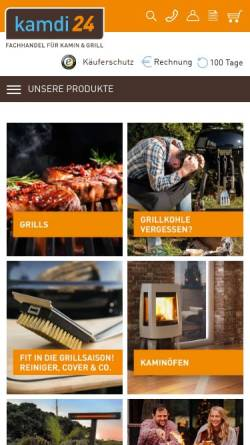 Vorschau der mobilen Webseite www.kamdi24.de, Kamdi24