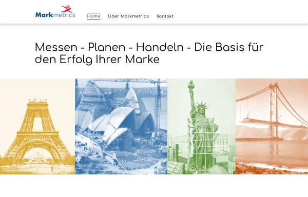 Vorschau von www.markmetrics.com, Markmetrics GmbH