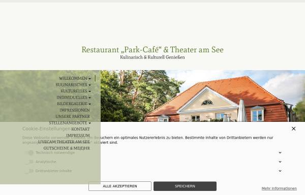 Vorschau von www.theater-am-see.de, Heiraten in Bad Saarow