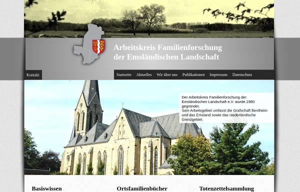 Vorschau von www.german-immigrants.com, Auswanderung aus dem Emsland und der Grafschaft Bentheim nach Nordamerika