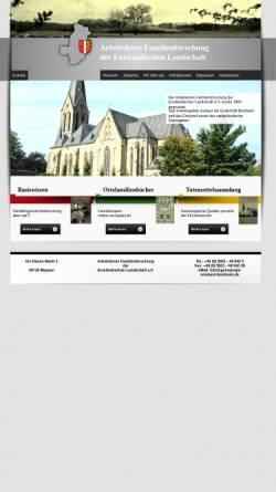 Vorschau der mobilen Webseite www.german-immigrants.com, Auswanderung aus dem Emsland und der Grafschaft Bentheim nach Nordamerika