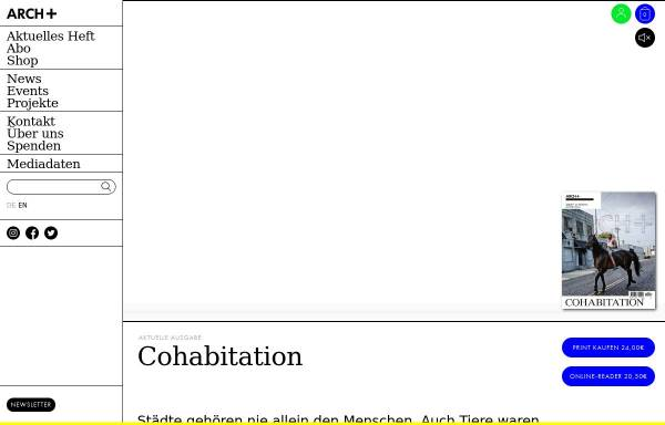 Vorschau von archplus.net, archplus