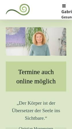 Vorschau der mobilen Webseite www.centrum-der-heilkunst.de, Centrum der Heilkunst