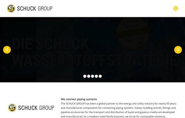 Vorschau von www.schuck-group.com, Franz Schuck GmbH