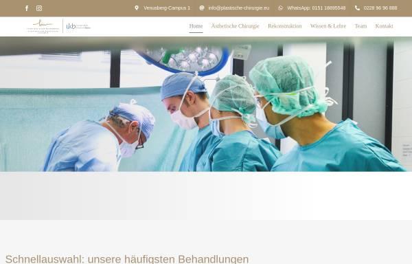 Vorschau von www.meinebrust.de, Priv. Doz. Dr. med. Klaus J. Walgenbach