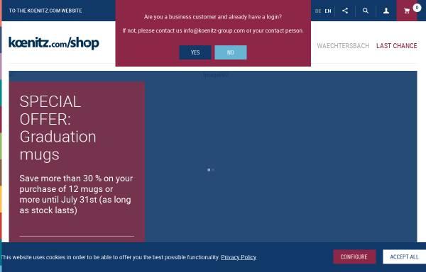 Vorschau von www.mug-shop.com, MUG Shop - Könitz Porzellan GmbH