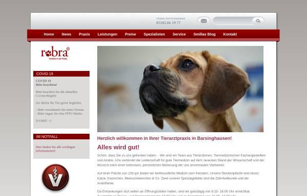 Vorschau von www.doc-robra.de, Tierärztin Dr. Marion Robra