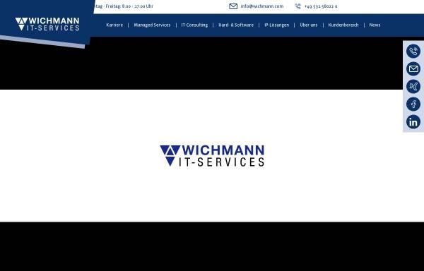 Vorschau von www.wichmann.net, Wichmann Internet Services