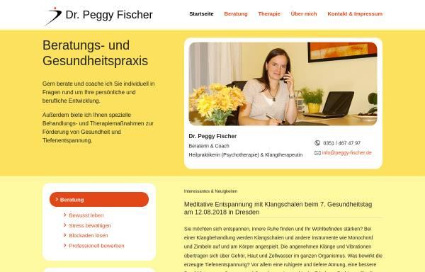 Vorschau von www.peggy-fischer.de, Beratungs- und Gesundheitspraxis Dr. Peggy Fischer
