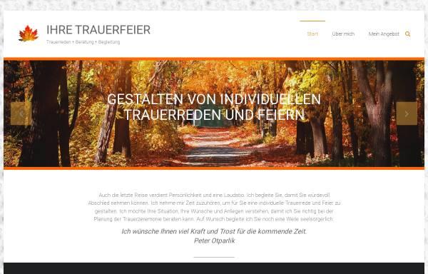 Vorschau von www.ihre-trauerfeier.de, Hermann Sattler