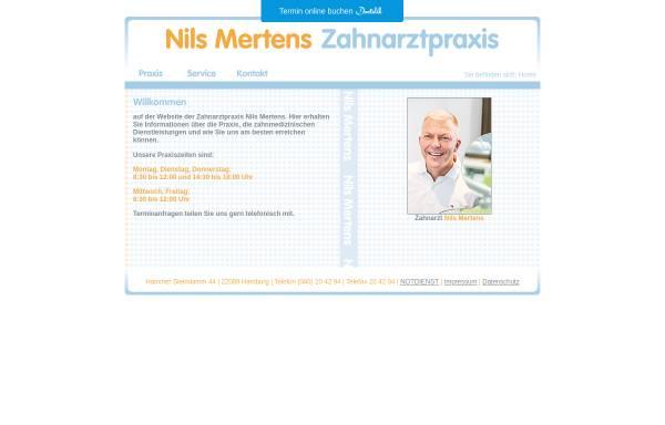 Vorschau von www.nilsmertens.de, Mertens, Nils