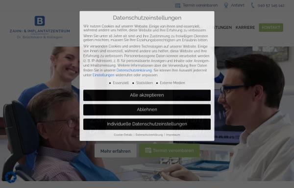 Vorschau von www.dr-bruechmann.de, Gemeinschaftspraxis Dres. Brüchmann