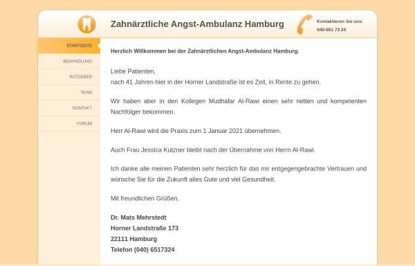 Vorschau von www.traumzahnarzt.de, Mehrstedt, Dr. Mats