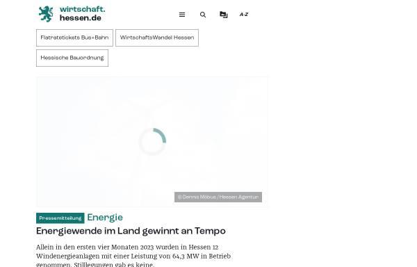 Vorschau von www.verkehr.hessen.de, Verkehrsinformationen aus Hessen