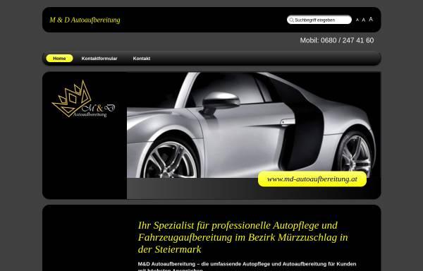 Vorschau von www.md-autoaufbereitung.at, M&D Autoaufbereitung