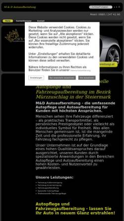 Vorschau der mobilen Webseite www.md-autoaufbereitung.at, M&D Autoaufbereitung