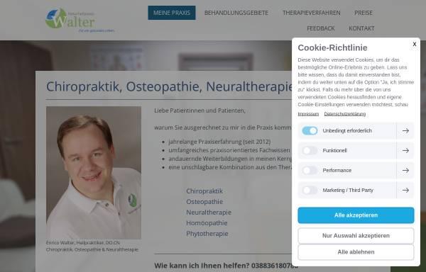 Vorschau von www.naturheilpraxis-walter.de, Enrico Walter