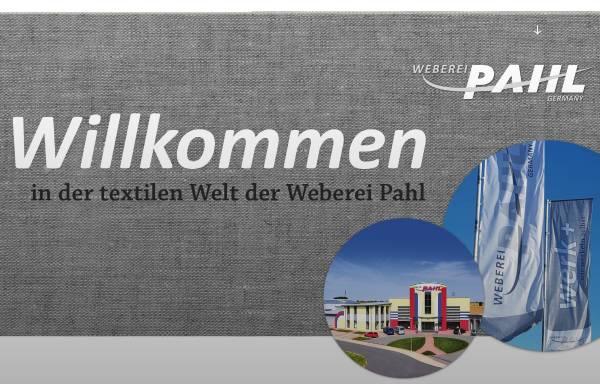 Vorschau von www.weberei-pahl.de, Weberei Pahl GmbH