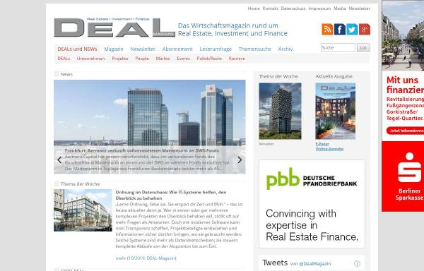 Vorschau von www.deal-magazin.com, Deal-Magazin - Happy Read Publishing Ltd.
