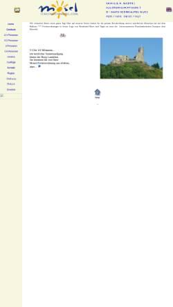 Vorschau der mobilen Webseite www.mosel-ferien.de, 8 Mosel-Ferienwohnungen in bester Lage von Bernkastel-Kues