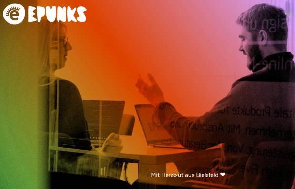Vorschau von epunks.de, epunks GmbH