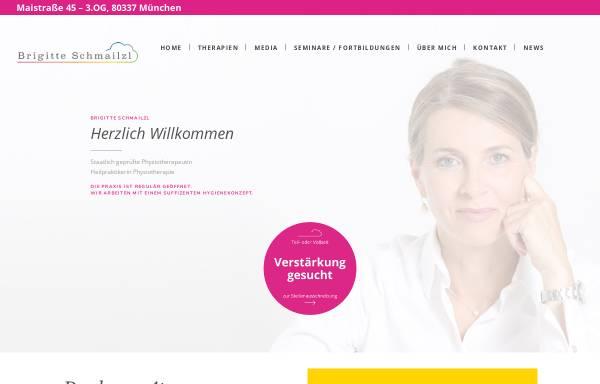 Vorschau von www.brigitte-schmailzl.de, Brigitte Schmailzl