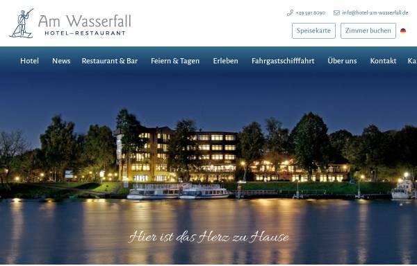 Vorschau von www.hotel-am-wasserfall.de, Hotel am Wasserfall