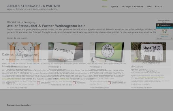 Vorschau von www.atelier-steinbuechel.de, Atelier Steinbüchel & Partner