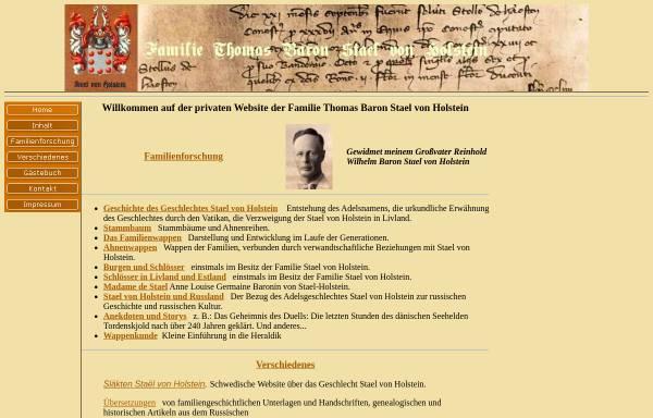 Vorschau von www.stael-von-holstein.de, Stael von Holstein