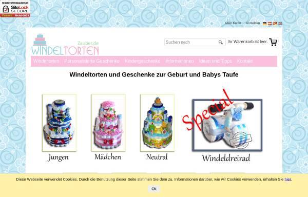 Vorschau von www.windeltortenzauber.de, WindeltortenZauber