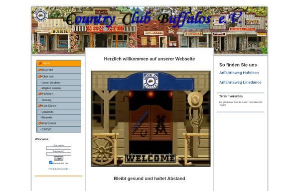 Vorschau von www.cc-buffalos.de, Country Club Buffalos (CCB)