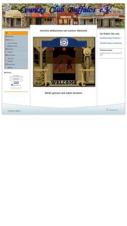 Vorschau der mobilen Webseite www.cc-buffalos.de, Country Club Buffalos (CCB)