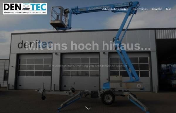 Vorschau von www.denitec.de, Denitec Fahrzeug- und Maschinenhandel - Huibrecht Grootenboer e.K.