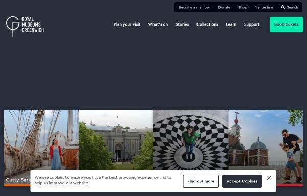 Vorschau von www.rmg.co.uk, National Maritime Museum