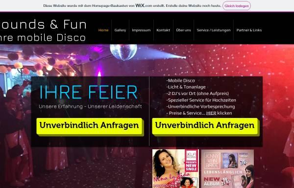 Vorschau von sounds-and-fun.de, Sounds and Fun