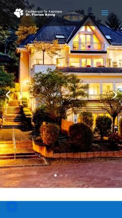 Vorschau der mobilen Webseite www.neurovet.de, König, Florian Dr.