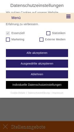 Vorschau der mobilen Webseite www.zahnarztpraxis-vogel.de, Zahnarztpraxis Vogel