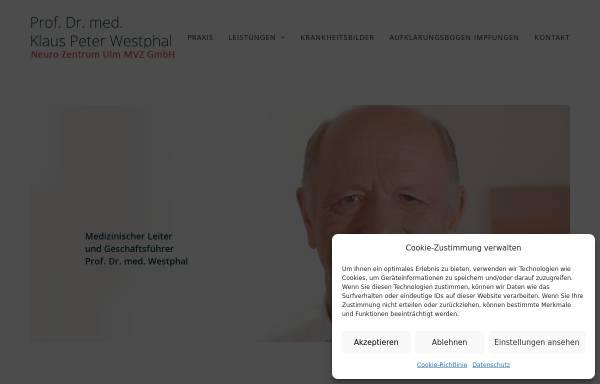 Vorschau von www.prof-westphal.de, Westphal, Klaus Peter, Prof. Dr. med.