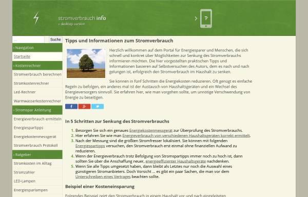 energie sparen stromkosten senken schritten, stromverbrauchinfo: energiesparen, energie stromverbrauchinfo.de, Design ideen