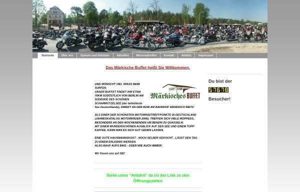 Vorschau von www.maerkisches-buffet.de, Märkisches Buffet