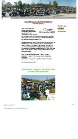 Vorschau der mobilen Webseite www.maerkisches-buffet.de, Märkisches Buffet