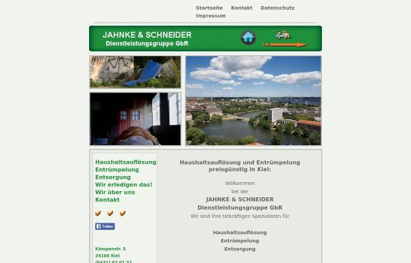 Vorschau von www.jahnke-schneider.de, Jahnke & Schneider Dienstleistungsgruppe GbR