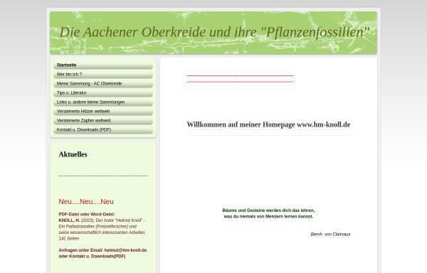 Vorschau von hm-knoll.de, Die Aachener Oberkreide
