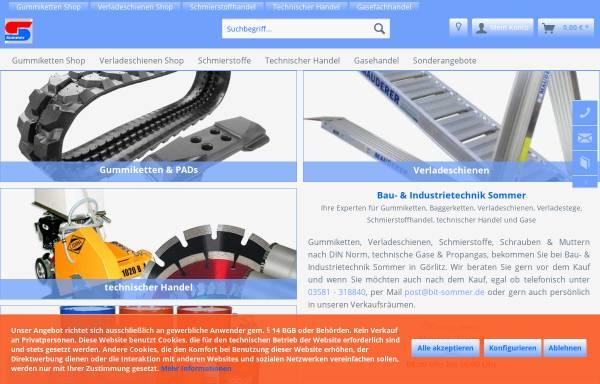 Vorschau von bit-sommer.de, Bau- & Industrietechnik Sommer