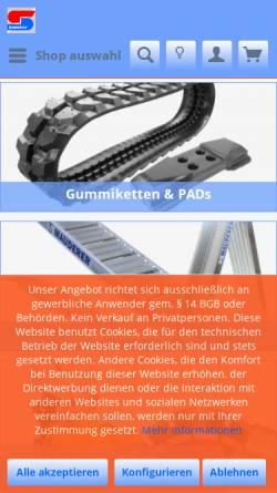 Vorschau der mobilen Webseite bit-sommer.de, Bau- & Industrietechnik Sommer