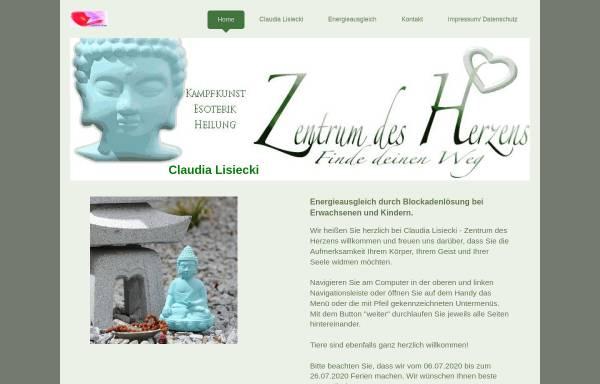 Vorschau von www.zentrum-des-herzens.de, Claudia Elisabeth Lisiecki