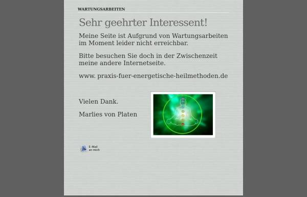 Vorschau von www.praxis-fuer-geistigesheilen.de, Marlies von Platen