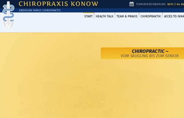 Vorschau von www.chiropraktiker-duesseldorf.de, Thorsten Konow, Heil- und Chiropraktiker